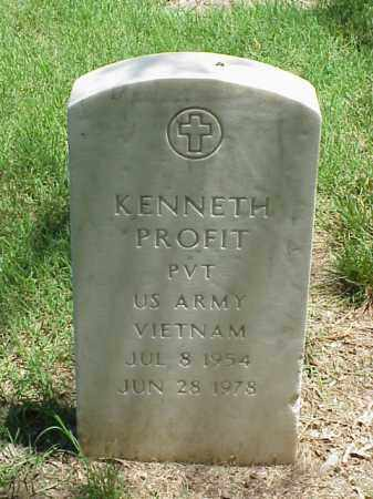 PROFIT (VETERAN VIET), KENNETH - Pulaski County, Arkansas | KENNETH PROFIT (VETERAN VIET) - Arkansas Gravestone Photos