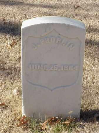 PROPLIN (VETERAN UNION), J - Pulaski County, Arkansas | J PROPLIN (VETERAN UNION) - Arkansas Gravestone Photos