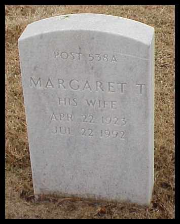 BROWN, MARGARET T - Pulaski County, Arkansas | MARGARET T BROWN - Arkansas Gravestone Photos