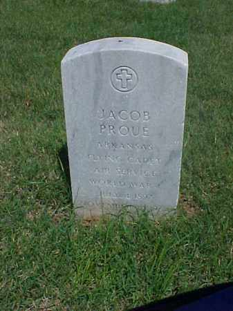 PROUE (VETERAN WWI), JACOB - Pulaski County, Arkansas | JACOB PROUE (VETERAN WWI) - Arkansas Gravestone Photos