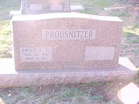 PROUSNITZER, JR, PHILLIP C - Pulaski County, Arkansas | PHILLIP C PROUSNITZER, JR - Arkansas Gravestone Photos