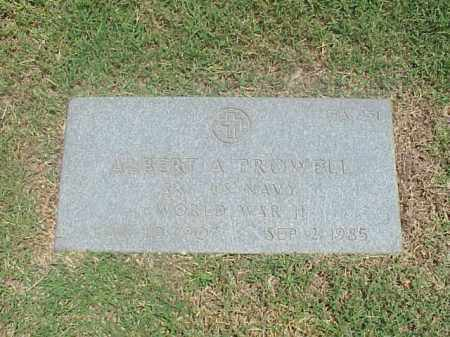 PROWELL (VETERAN WWII), ALBERT A - Pulaski County, Arkansas | ALBERT A PROWELL (VETERAN WWII) - Arkansas Gravestone Photos