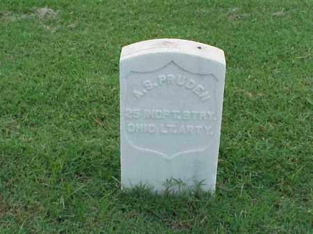 PRUDEN (VETERAN UNION), A S - Pulaski County, Arkansas | A S PRUDEN (VETERAN UNION) - Arkansas Gravestone Photos