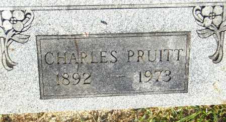 PRUITT, CHARLES - Pulaski County, Arkansas | CHARLES PRUITT - Arkansas Gravestone Photos