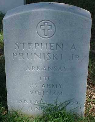 PRUNISKI JR (VETERAN VIET), STEPHEN A - Pulaski County, Arkansas | STEPHEN A PRUNISKI JR (VETERAN VIET) - Arkansas Gravestone Photos