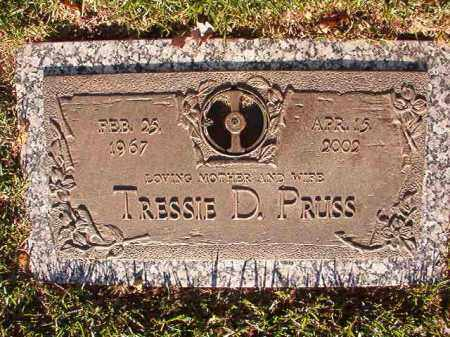PRUSS, TRESSIE D - Pulaski County, Arkansas | TRESSIE D PRUSS - Arkansas Gravestone Photos