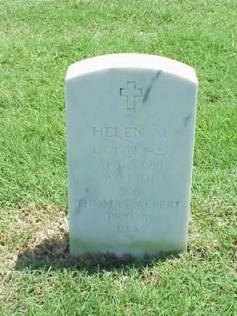 PRYOR, HELEN M - Pulaski County, Arkansas | HELEN M PRYOR - Arkansas Gravestone Photos