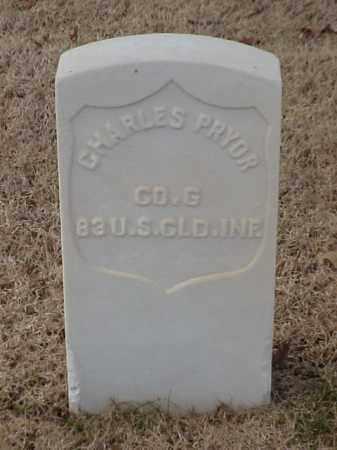 PRYOR (VETERAN UNION), CHARLES - Pulaski County, Arkansas | CHARLES PRYOR (VETERAN UNION) - Arkansas Gravestone Photos