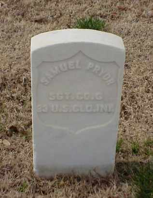 PRYOR (VETERAN UNION), SAMUEL - Pulaski County, Arkansas | SAMUEL PRYOR (VETERAN UNION) - Arkansas Gravestone Photos