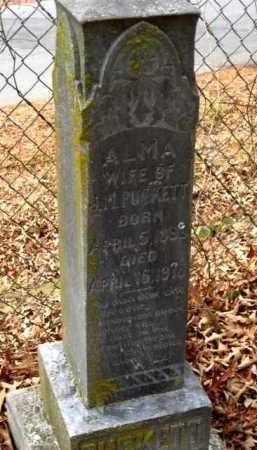 PUCKETT, ALMA - Pulaski County, Arkansas | ALMA PUCKETT - Arkansas Gravestone Photos