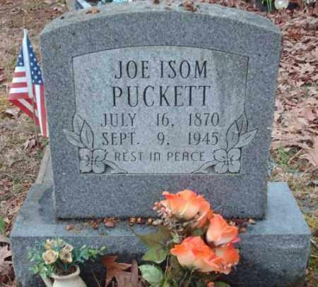 PUCKETT, JOE ISOM - Pulaski County, Arkansas | JOE ISOM PUCKETT - Arkansas Gravestone Photos
