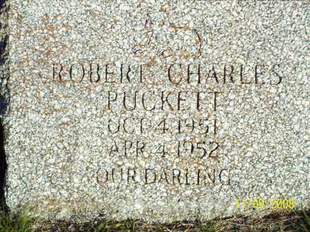 PUCKETT, ROBERT CHARLES - Pulaski County, Arkansas | ROBERT CHARLES PUCKETT - Arkansas Gravestone Photos