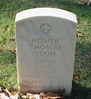 PUGH (VETERAN WWI), HOMER THOMAS - Pulaski County, Arkansas | HOMER THOMAS PUGH (VETERAN WWI) - Arkansas Gravestone Photos