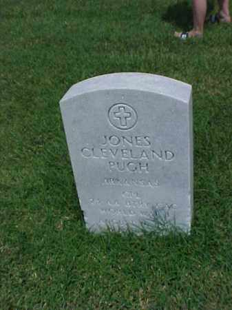 PUGH (VETERAN WWI), JONES CLEVELAND - Pulaski County, Arkansas | JONES CLEVELAND PUGH (VETERAN WWI) - Arkansas Gravestone Photos
