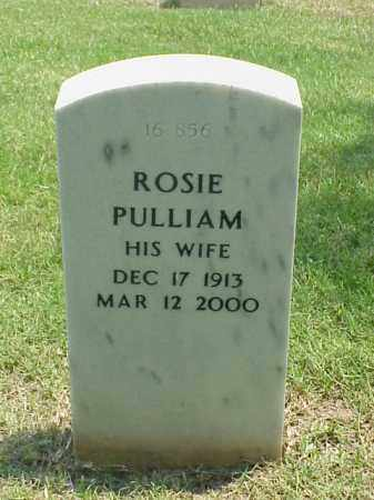PULLIAM, ROSIE - Pulaski County, Arkansas | ROSIE PULLIAM - Arkansas Gravestone Photos