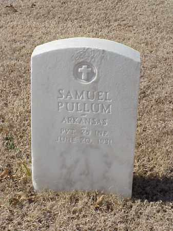 PULLUM (VETERAN WWI), SAMUEL - Pulaski County, Arkansas | SAMUEL PULLUM (VETERAN WWI) - Arkansas Gravestone Photos