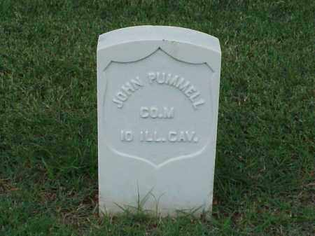 PUMMELL (VETERAN UNION), JOHN - Pulaski County, Arkansas | JOHN PUMMELL (VETERAN UNION) - Arkansas Gravestone Photos