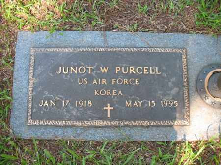 PURCELL (VETERAN KOR), JUNOT W - Pulaski County, Arkansas | JUNOT W PURCELL (VETERAN KOR) - Arkansas Gravestone Photos