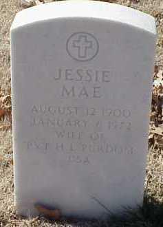 PURDOM, JESSIE MAE - Pulaski County, Arkansas | JESSIE MAE PURDOM - Arkansas Gravestone Photos