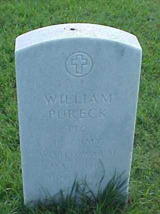 PURECK (VETERAN WWII), WILLIAM M - Pulaski County, Arkansas | WILLIAM M PURECK (VETERAN WWII) - Arkansas Gravestone Photos