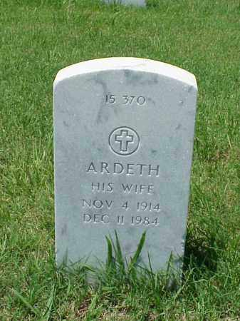 PUTNAM, ARDETH - Pulaski County, Arkansas | ARDETH PUTNAM - Arkansas Gravestone Photos
