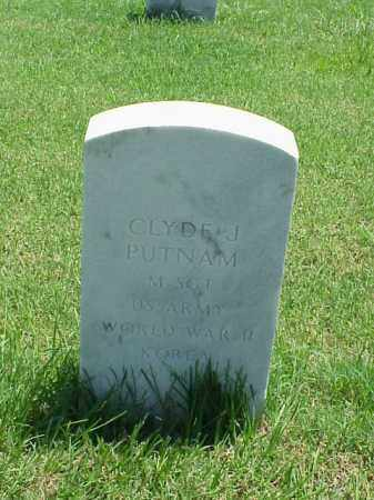 PUTNAM (VETERAN 2 WARS), CLYDE J - Pulaski County, Arkansas | CLYDE J PUTNAM (VETERAN 2 WARS) - Arkansas Gravestone Photos