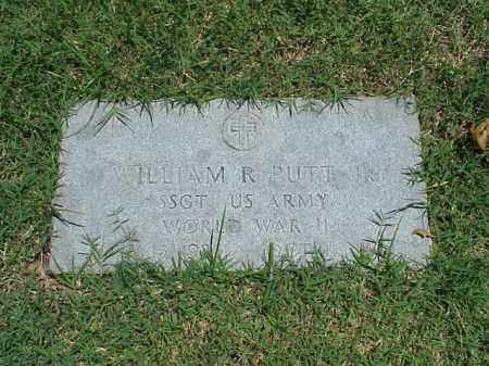 PUTT, JR (VETERAN WWII), WILLIAM R - Pulaski County, Arkansas | WILLIAM R PUTT, JR (VETERAN WWII) - Arkansas Gravestone Photos