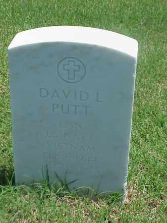 PUTT (VETERAN VIET), DAVID L - Pulaski County, Arkansas | DAVID L PUTT (VETERAN VIET) - Arkansas Gravestone Photos