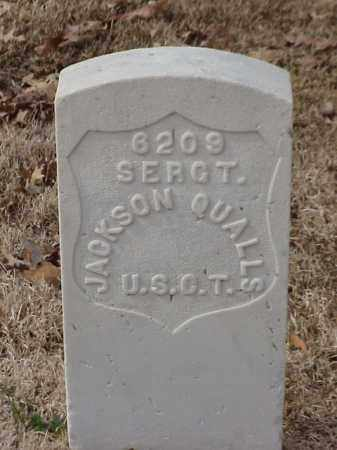 QUALLS (VETERAN UNION), JACKSON - Pulaski County, Arkansas | JACKSON QUALLS (VETERAN UNION) - Arkansas Gravestone Photos