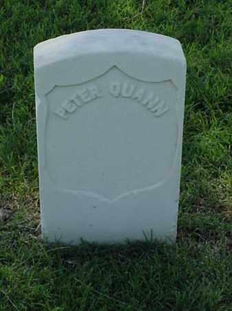 QUANN (VETERAN UNION), PETER - Pulaski County, Arkansas | PETER QUANN (VETERAN UNION) - Arkansas Gravestone Photos