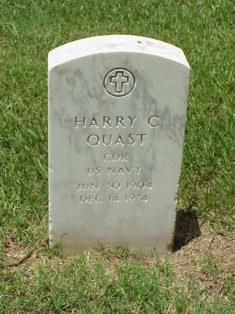 QUAST (VETERAN 2 WARS), HARRY C - Pulaski County, Arkansas | HARRY C QUAST (VETERAN 2 WARS) - Arkansas Gravestone Photos