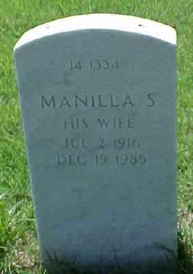 QUEEN, MANILLA S. - Pulaski County, Arkansas | MANILLA S. QUEEN - Arkansas Gravestone Photos