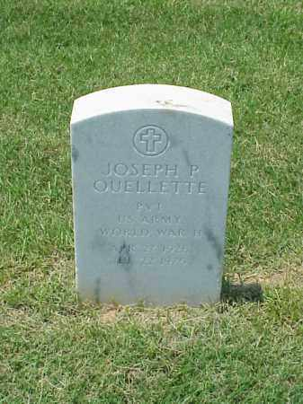 QUELLETTE (VETERAN WWII), JOSEPH P - Pulaski County, Arkansas | JOSEPH P QUELLETTE (VETERAN WWII) - Arkansas Gravestone Photos