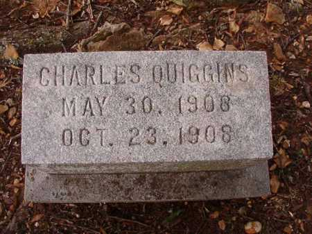 QUIGGINS, CHARLES - Pulaski County, Arkansas | CHARLES QUIGGINS - Arkansas Gravestone Photos