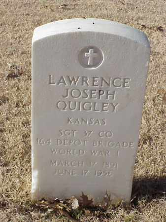 QUIGLEY (VETERAN WWI), LAWRENCE JOSEPH - Pulaski County, Arkansas | LAWRENCE JOSEPH QUIGLEY (VETERAN WWI) - Arkansas Gravestone Photos