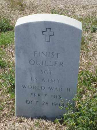 QUILLER (VETERAN WWII), FINIST - Pulaski County, Arkansas | FINIST QUILLER (VETERAN WWII) - Arkansas Gravestone Photos