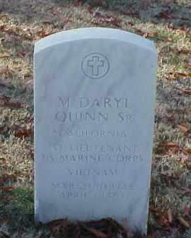 QUINN, SR (VETERAN VIET), M DARYL - Pulaski County, Arkansas | M DARYL QUINN, SR (VETERAN VIET) - Arkansas Gravestone Photos