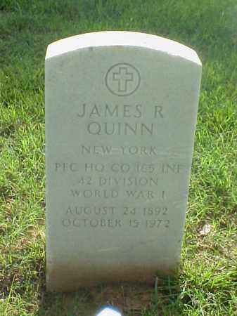 QUINN (VETERAN WWI), JAMES R - Pulaski County, Arkansas | JAMES R QUINN (VETERAN WWI) - Arkansas Gravestone Photos