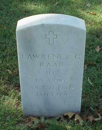 RAAB (VETERAN), LAWRENCE G - Pulaski County, Arkansas | LAWRENCE G RAAB (VETERAN) - Arkansas Gravestone Photos