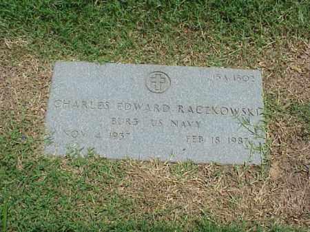 RACZKOWSKI (VETERAN), CHARLES EDWARD - Pulaski County, Arkansas | CHARLES EDWARD RACZKOWSKI (VETERAN) - Arkansas Gravestone Photos