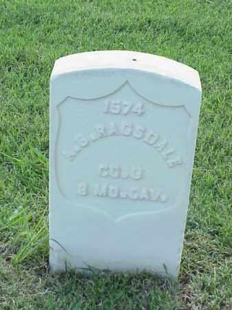 RAGSDALE (VETERAN UNION), A G - Pulaski County, Arkansas | A G RAGSDALE (VETERAN UNION) - Arkansas Gravestone Photos