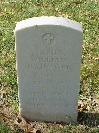 RAINBOLT (VETERAN WWI), JAMES WILLIAM - Pulaski County, Arkansas | JAMES WILLIAM RAINBOLT (VETERAN WWI) - Arkansas Gravestone Photos
