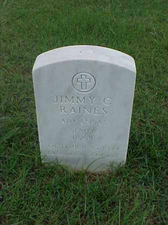 RAINES (VETERAN), JIMMY C - Pulaski County, Arkansas | JIMMY C RAINES (VETERAN) - Arkansas Gravestone Photos