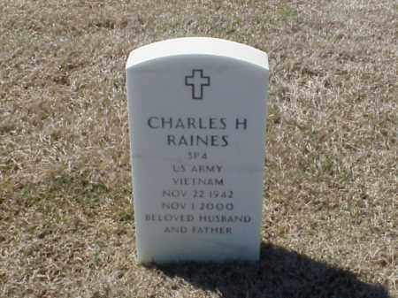 RAINES (VETERAN VIET), CHARLES H - Pulaski County, Arkansas | CHARLES H RAINES (VETERAN VIET) - Arkansas Gravestone Photos