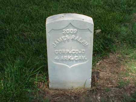 RALPH (VETERAN UNION), JAMES - Pulaski County, Arkansas | JAMES RALPH (VETERAN UNION) - Arkansas Gravestone Photos