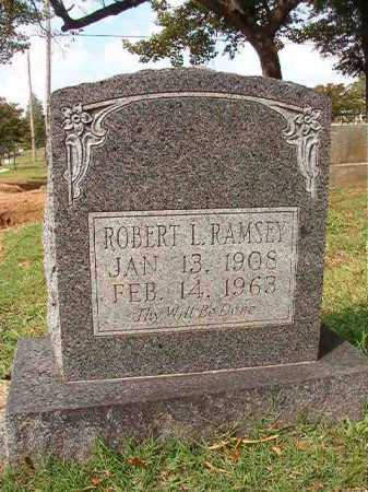 RAMSEY, ROBERT L - Pulaski County, Arkansas | ROBERT L RAMSEY - Arkansas Gravestone Photos