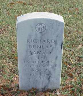 RAMSEY (VETERAN 2 WARS), RICHARD DUNLAP - Pulaski County, Arkansas | RICHARD DUNLAP RAMSEY (VETERAN 2 WARS) - Arkansas Gravestone Photos