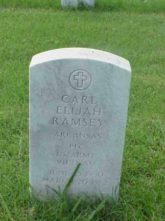 RAMSEY (VETERAN VIET), CARL ELIJAH - Pulaski County, Arkansas | CARL ELIJAH RAMSEY (VETERAN VIET) - Arkansas Gravestone Photos