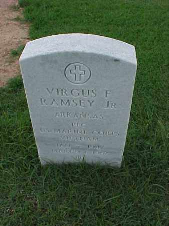 RAMSEY, JR (VETERAN VIET), VIRGUS F - Pulaski County, Arkansas | VIRGUS F RAMSEY, JR (VETERAN VIET) - Arkansas Gravestone Photos