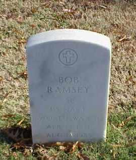RAMSEY (VETERAN WWII), BOB - Pulaski County, Arkansas | BOB RAMSEY (VETERAN WWII) - Arkansas Gravestone Photos